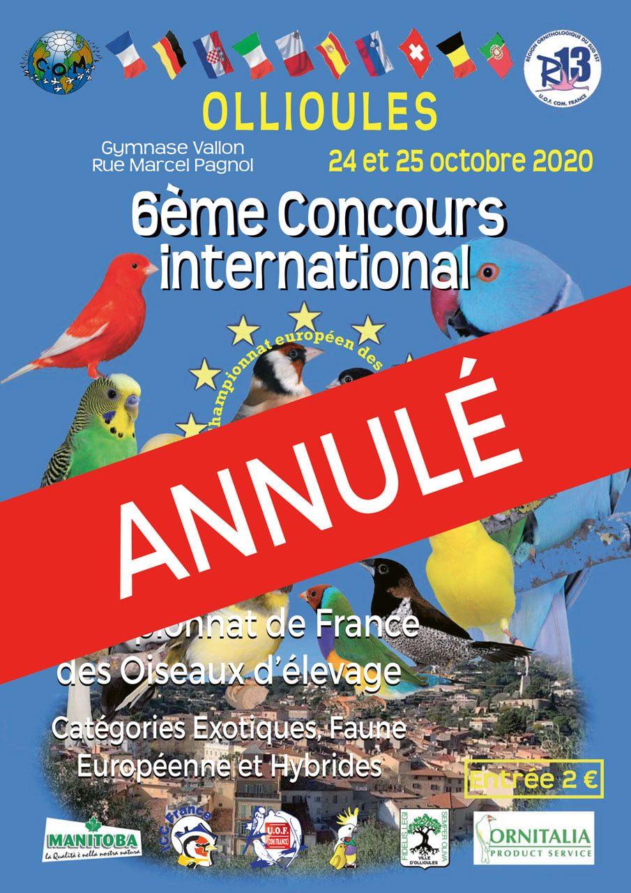 Championnat de France Ollioules 2020