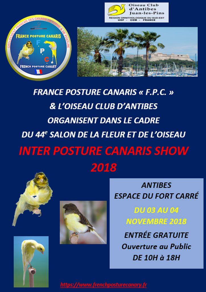 Inter Posture Canaris Show – Antibes 2018