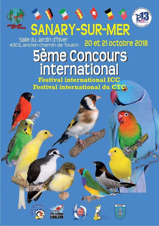 Concours International – Sanary 2018