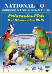 Championnat de France UOF, des Oiseaux d'Élevage 2019